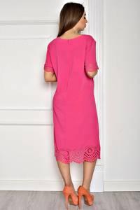Платье длинное вечернее красное Т1956