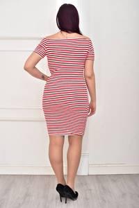 Платье короткое облегающее Ц3971