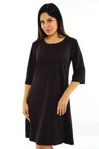 Платье короткое вечернее черное М7507