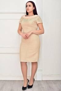 Платье короткое элегантное Ц3972