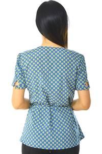 Блуза офисная нарядная Н5904
