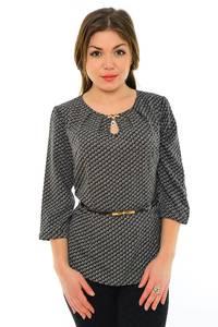 Блуза черная нарядная М8894