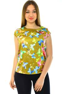 Блуза летняя праздничная Н4269