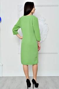 Платье короткое летнее зеленое П8361