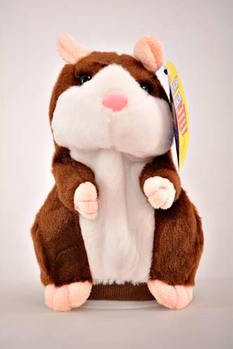 Интерактивная игрушка говорящий хомяк И0608