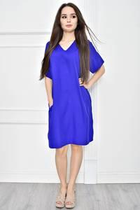 Платье короткое летнее однотонное Т7769