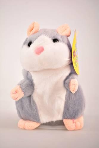 Интерактивная игрушка говорящий хомяк И0609