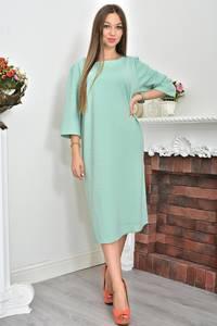Платье длинное однотонное повседневное Ф0071