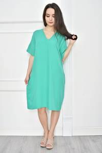 Платье короткое летнее однотонное Т7770