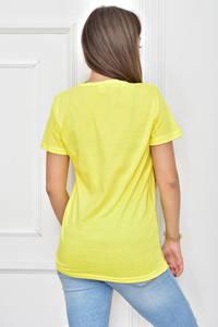 Футболка желтая с рисунком Т8926
