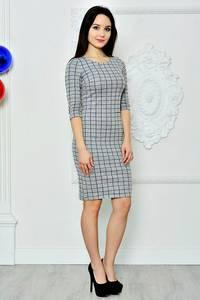 Платье короткое классическое облегающее П8367