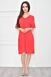 Платье короткое летнее однотонное Т7771