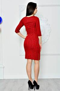 Платье короткое классическое облегающее П8368