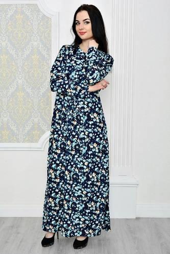 Платье длинное зимнее нарядное Р1882