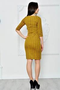 Платье короткое классическое облегающее П8369