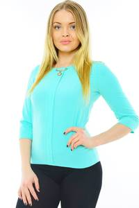 Блуза летняя офисная Н0193