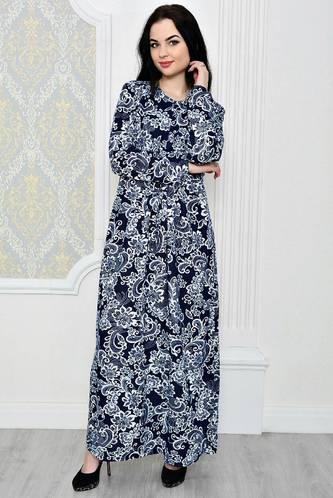 Платье длинное зимнее нарядное Р1884