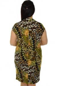 Платье короткое с коротким рукавом трикотажное Н3221