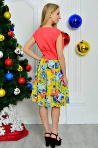 Платье короткое летнее элегантное П8260