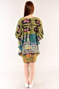 Туника-платье удлиненная красивая стильная И4820