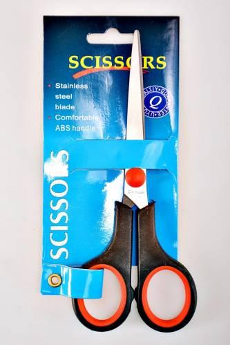 Ножницы с резиновыми ручками Е5667