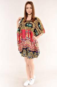 Туника-платье удлиненная красивая стильная И4821