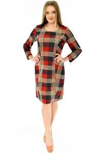 Платье короткое повседневное трикотажное П4292