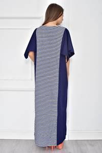 Платье длинное летнее с коротким рукавом У7738