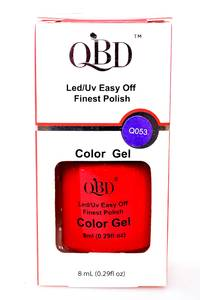 OBD Nail Polish Gel Q053 Р4736