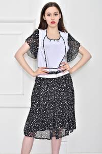 Платье длинное летнее с принтом Т9078