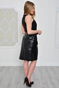 Платье короткое современное однотонное Р0786