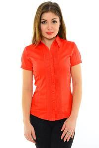 Рубашка красная с коротким рукавом М8912