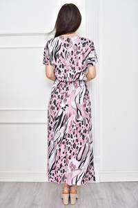 Платье длинное летнее с принтом Т7776