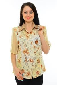 Рубашка с принтом с коротким рукавом М5501