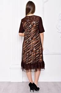 Платье длинное вечернее нарядное С9050