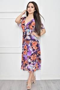 Платье короткое летнее с принтом Т7778