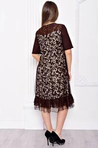 Платье длинное вечернее нарядное С9052