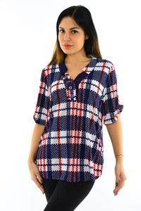 Блуза летняя нарядная М7747