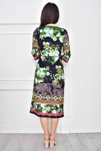 Платье короткое летнее с принтом Т7779