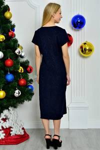 Платье короткое повседневное однотонное П8267