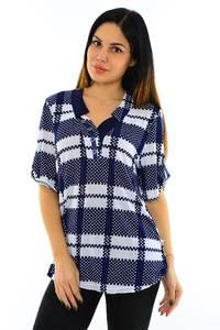 Блуза летняя нарядная М7748