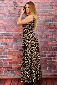 Платье длинное нарядное без рукавов П6041
