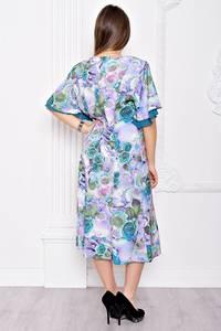 Платье длинное вечернее с принтом С9055