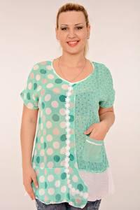 Блуза летняя праздничная К0602