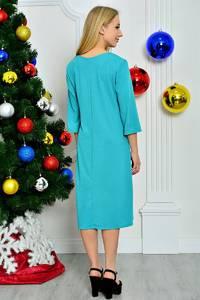 Платье короткое современное нарядное П8270