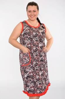 Домашнее платье В0217