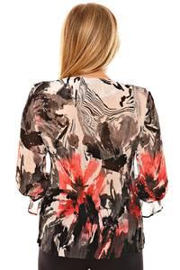 Блуза летняя нарядная Л6955