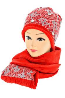 Шапка и шарф Л9989