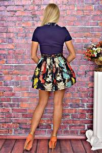 Платье короткое коктейльное элегантное Т5907