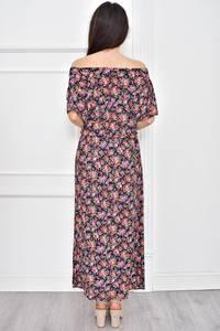 Платье длинное летнее с принтом Т7784
